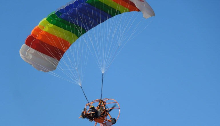 Powered Parachuting Apple Valley Gliding