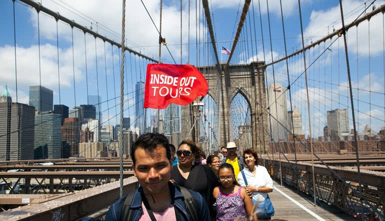 New York City Walking Tour Brooklyn Bridge