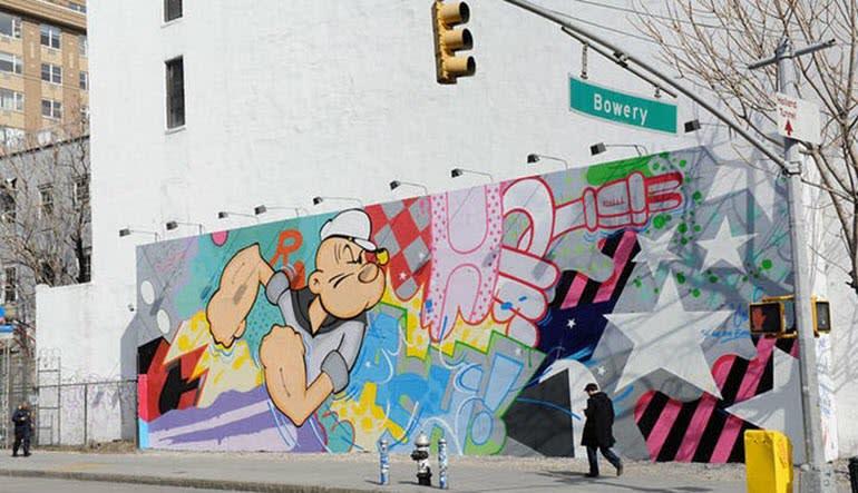 New York City Walking Tour, Alternative Street Art
