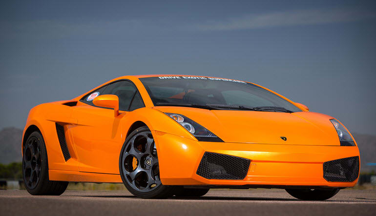 Lamborghini Gallardo Drive Orange Beast