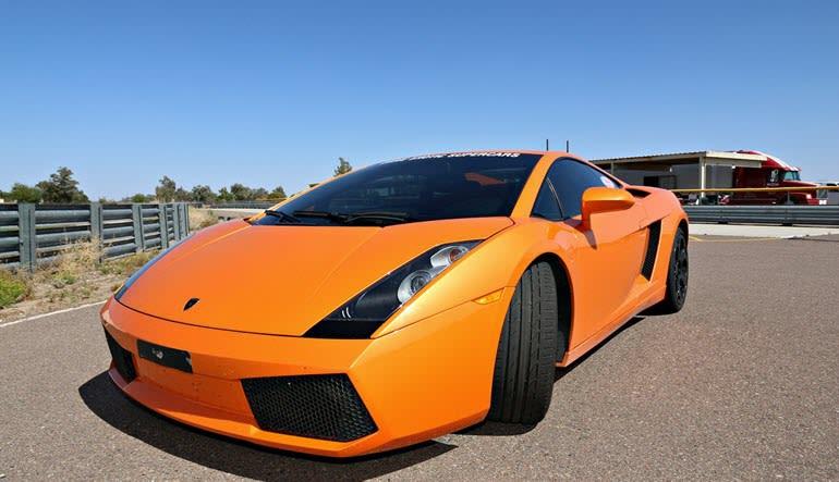 Lamborghini Gallardo Drive European Supercar