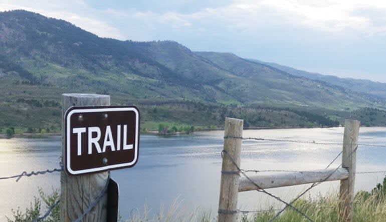 Bus Tour Fort Collins Reservoir