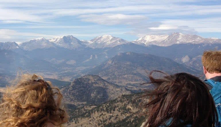 Bus Tour Fort Collins Mountains