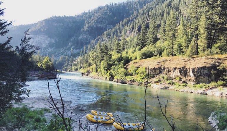 Whitewater Rafting Jackson Hole River