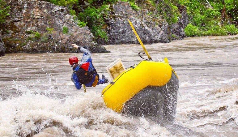 Whitewater Rafting Jackson Hole Tipped
