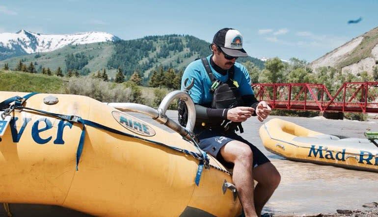 Whitewater Rafting Jackson Hole Instructor
