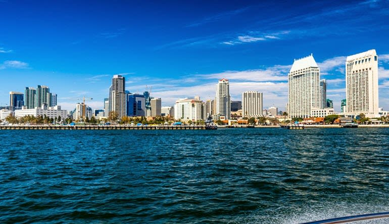 San Diego Yacht Cruise City Views
