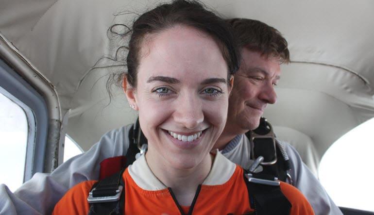 Skydive Tandem Greenville Lady