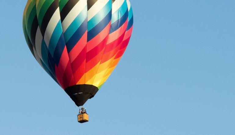 Hot Air Balloon Ride Orlando Rainbow