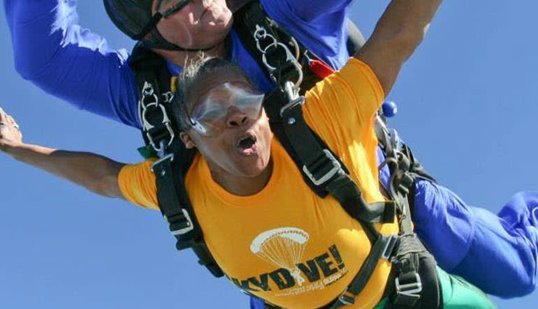 Skydive Tecumseh - 18,000ft Jump Yellow