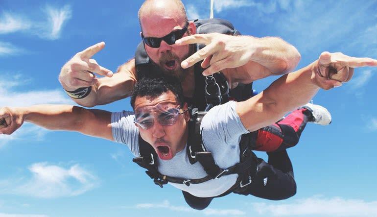 Skydive Tecumseh - 18,000ft Jump Woohoo