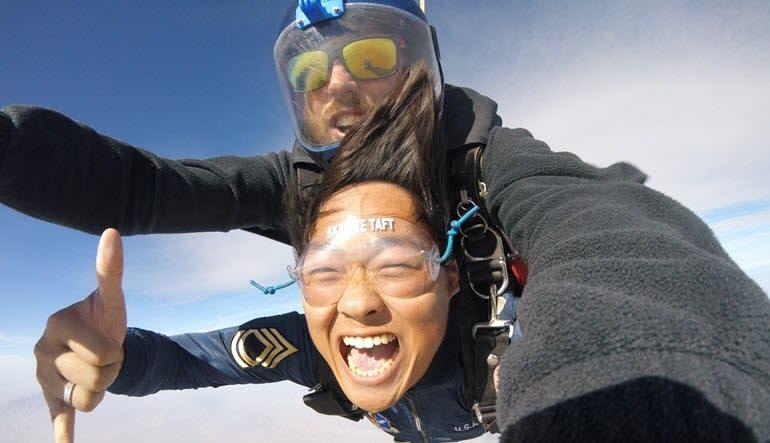 Skydive Taft - 10,000ft Tandem Jump Smile