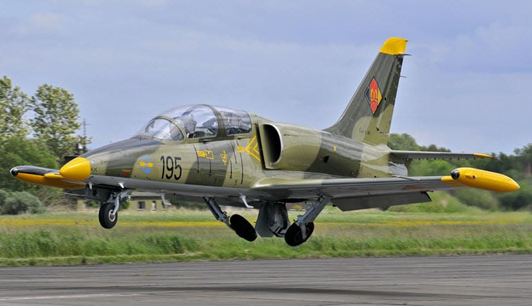 Fly an L-39 Jet Fighter 45 Minutes Aircraft