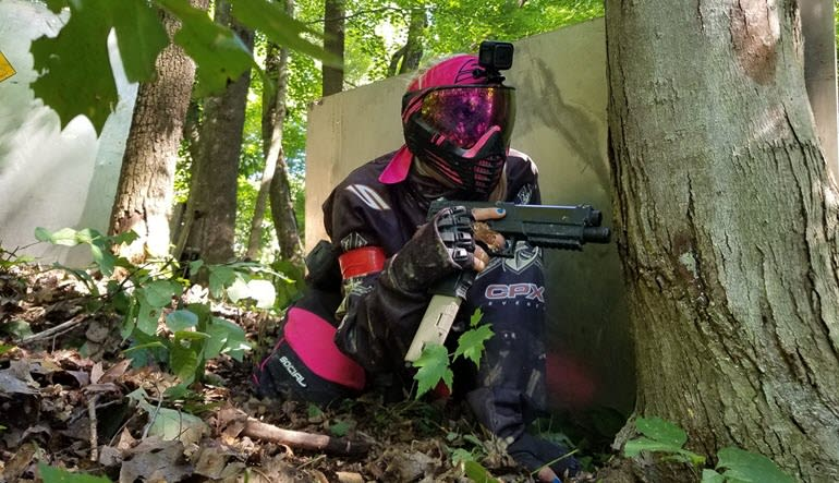 Paintball Private Party Milwaukee Girl