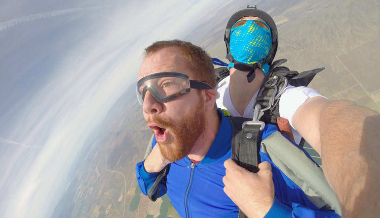Skydive Salt Lake City, the Wasatch Front - 13,000ft MSL Jump
