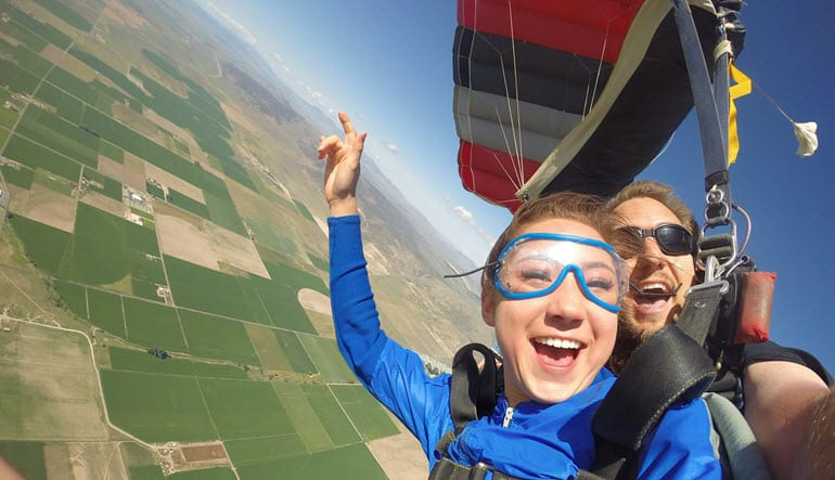 Skydive Salt Lake City, the Wasatch Front, 13,000ft MSL Jump