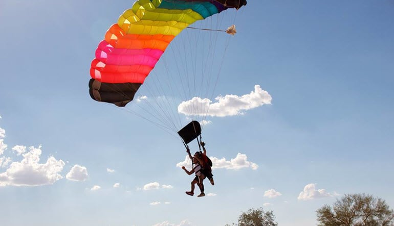 Skydive Phoenix - 12,500ft Jump