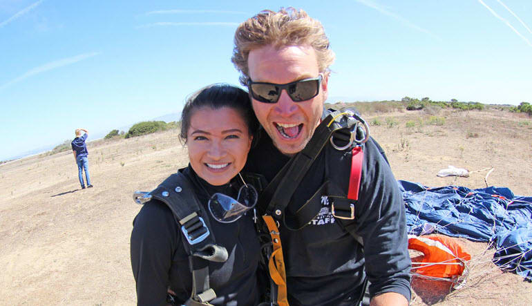 Skydive Monterey Bay - 18,000ft Jump
