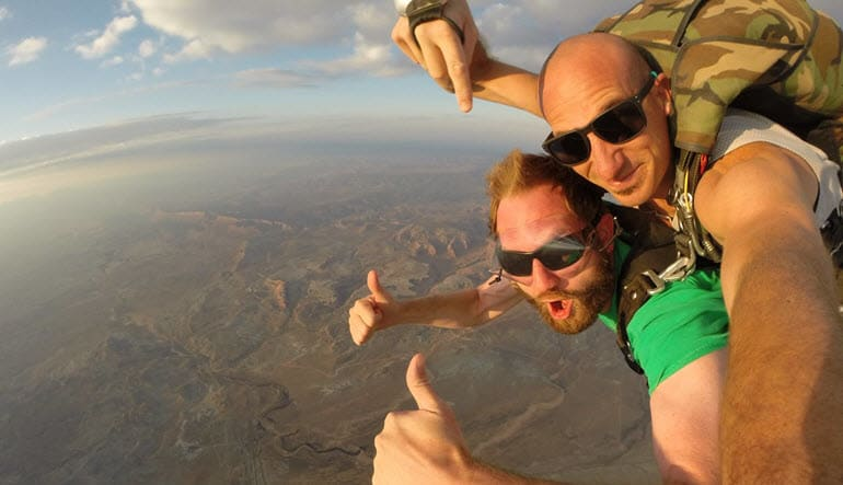 Skydive Moab, 14,000ft Tandem Skydiving