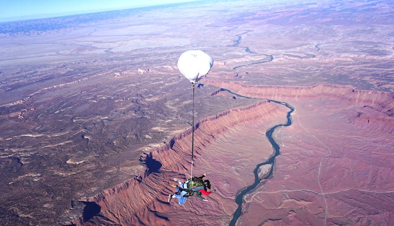 Skydive Moab - 14,000ft Jump