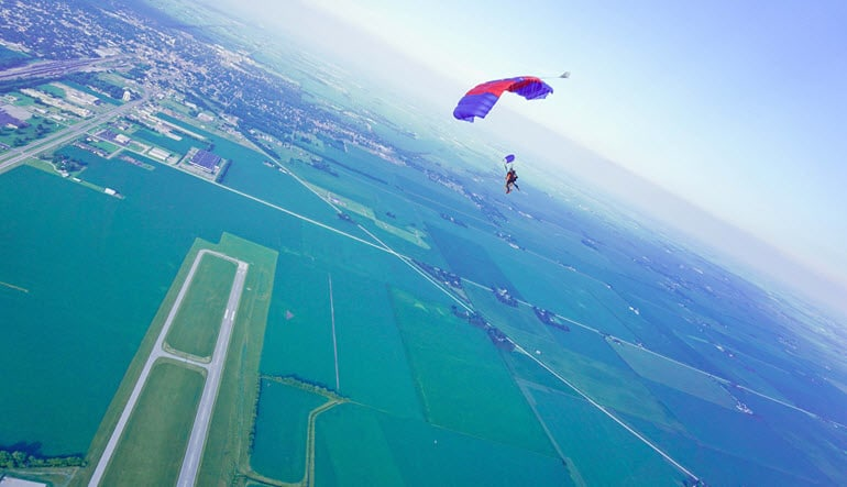 Skydive Indianapolis, Weekday - 13,000ft Jump