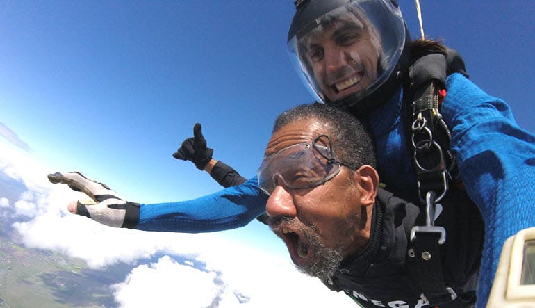 Skydive Hollister - 8,000ft Jump