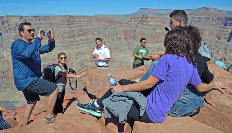 Grand Canyon Plane Tour Family Shoot