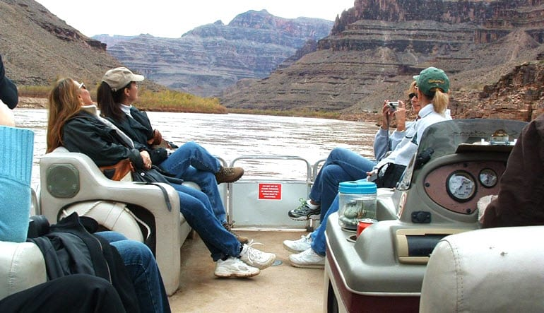 Grand Canyon Plane Tour Raft