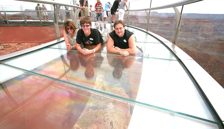 Grand Canyon Plane Tour Viewing Platform