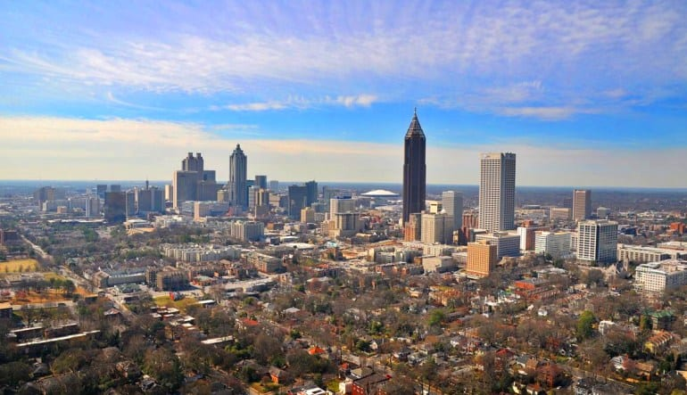Private Helicopter Ride Atlanta Skyline