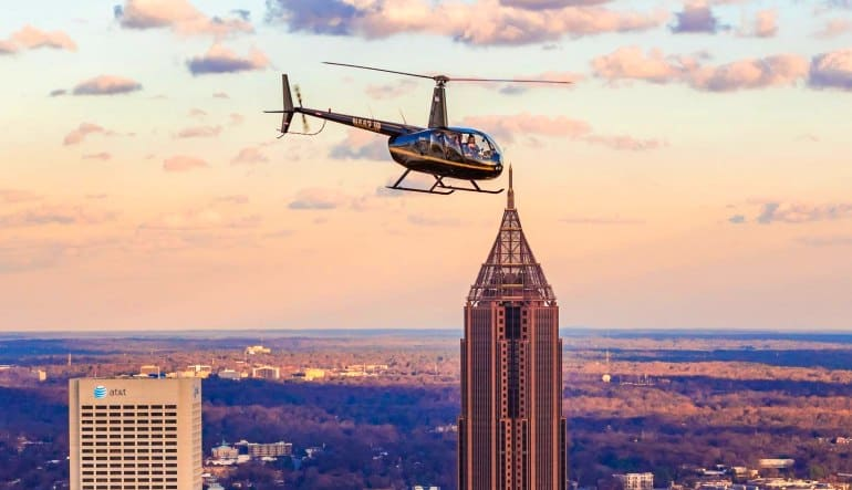 Private Helicopter Ride Atlanta City