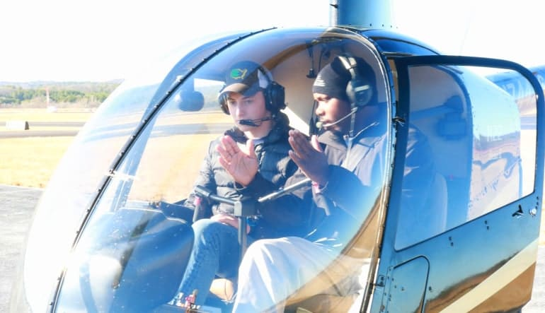 Helicopter Introductory Flight Lesson Atlanta