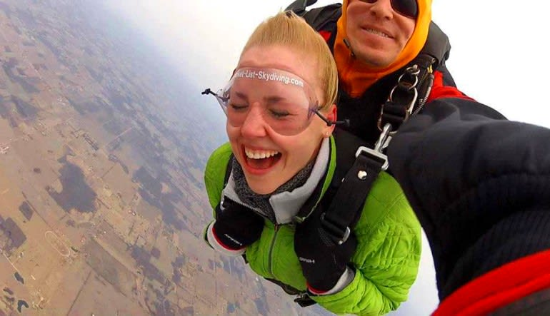 Skydive Harbor Springs Smiles