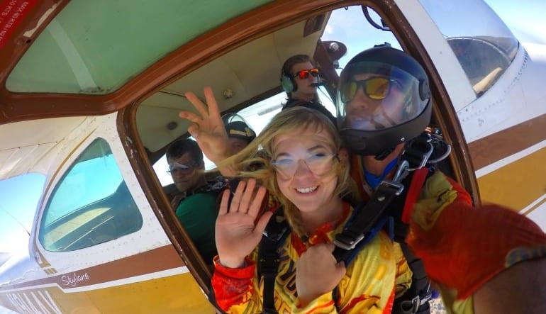 Skydive San Francisco Novato Jump