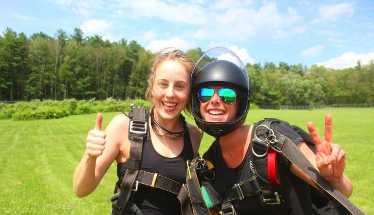 Skydive Hartford Grins