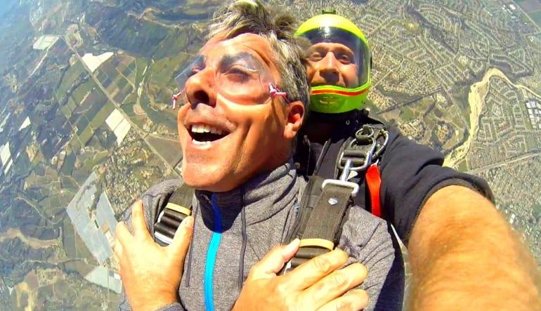 Skydive Los Angeles Weekend Gentleman