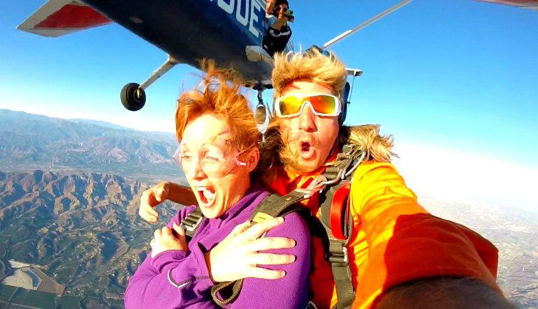 Skydive Los Angeles Weekend Hold On