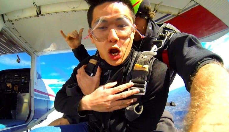 Skydive Los Angeles Weekend Man