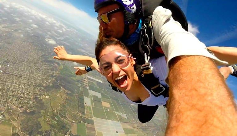 Skydive Los Angeles Weekend Scream