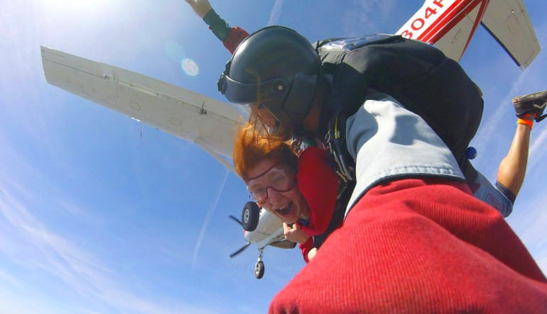Skydive Baltimore Jump Out Plane