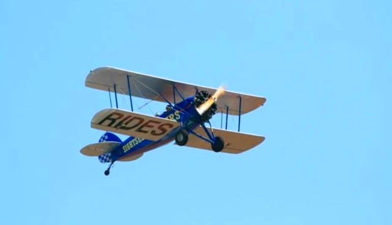 Smoky Mountain Biplane Ride Aircraft Plane