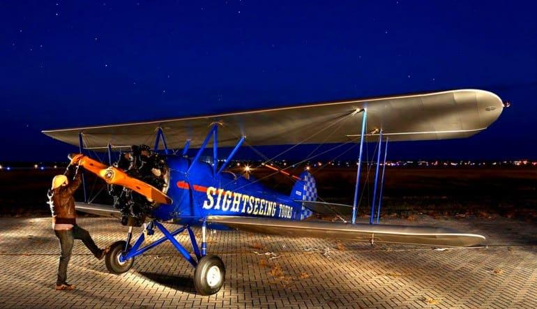 15 Minute Smoky Mountain Biplane Ride Intro Flight