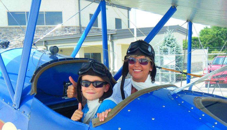 Smoky Mountain Biplane Ride Child Friendly
