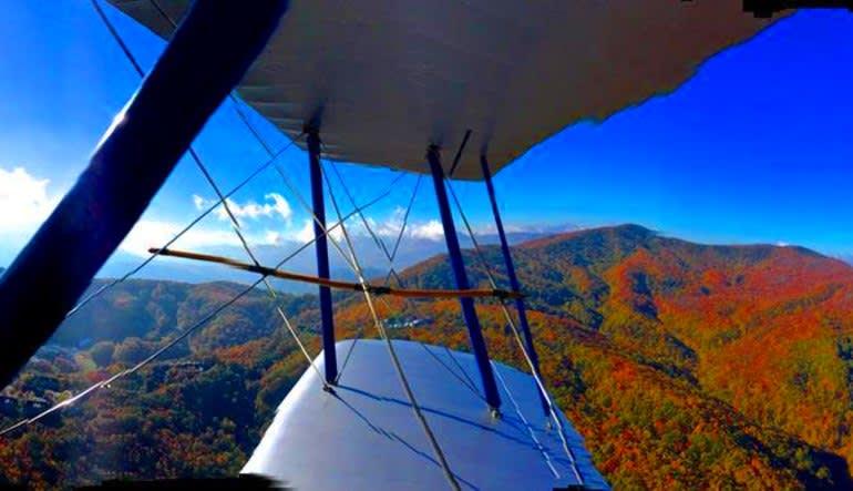 Smoky Mountain Biplane Ride