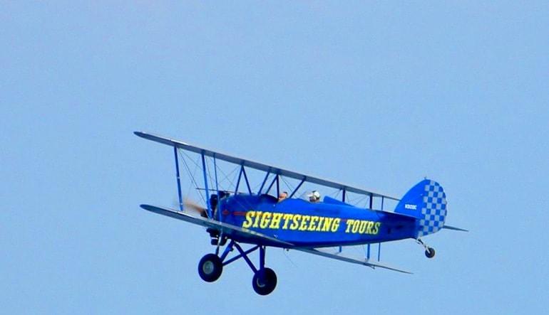 Smoky Mountain Biplane Ride Aircraft