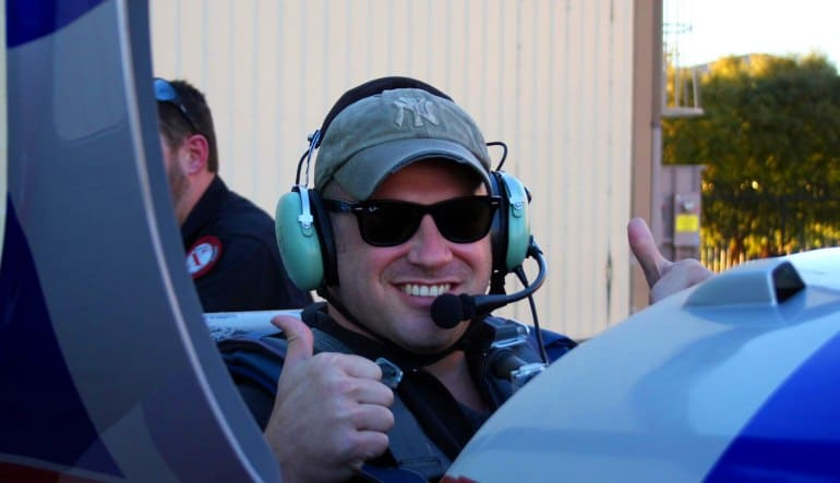 Aerobatic Flight Lesson Las Vegas Behind The Controls