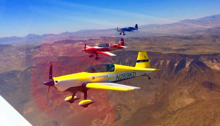 Sky Combat Dogfighting Experience Las Vegas Flight Mode