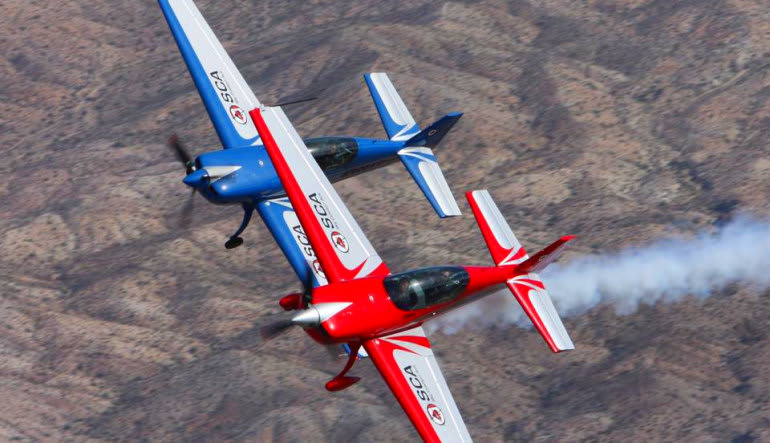 Sky Combat Dogfighting Experience Las Vegas Pairs