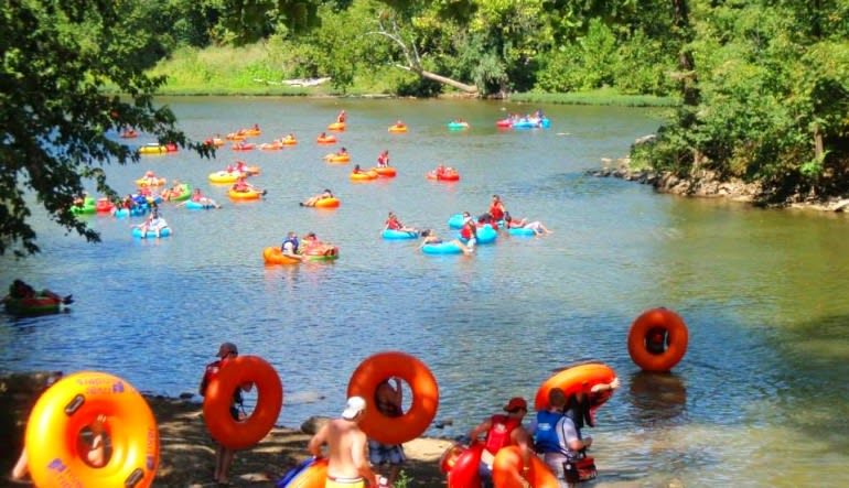 2 Person Deal: Tubing Harpers Ferry River