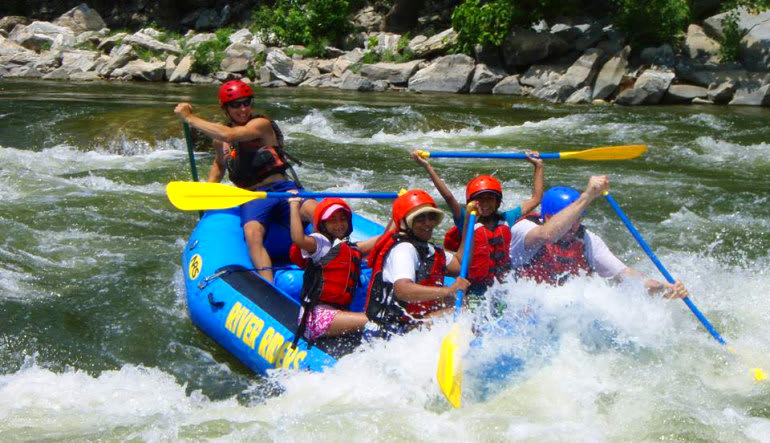 2 Person Deal: Whitewater Rafting Harpers Ferry